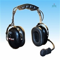 Klein Electronics DUALSPORT Racing Headset with Boom Microphone. Extreme Noise Reducing