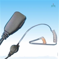 Earpiece E326 with Clear Coil Earbud for CP200, PR400, GP300 etc.