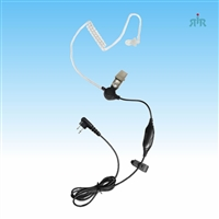 Earpiece E329 Singe-wire with Mic and PTT for Motorola, Icom, Kenwood, Vertex etc
