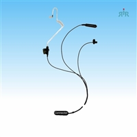 Earpiece E344 3-wire with Mic and PTT for Motorola, Icom, Kenwood, Vertex etc