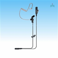 Earpiece E346 with Mic and PTT for Portable Radios Motorola, Icom, Kenwood, Vertex.