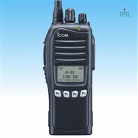 Icom F3161S VHF Analog and LTR portable radio, 512 channel, with display and keypad