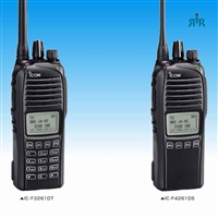 F3261DS - F4261DS 512 channel, waterproof IDAS portable radio with built-in GPS. Analog, LTR, 6.25 IDAS digital, conventional, D trunking.