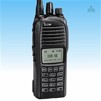 F3360DT F4360DT VHF, UHF 512 channels, waterproof IDAS portable radio with built-in GPS, DTMF keypad
