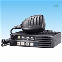 F5011 - F6011 Series Mobile Radio, 45-50 Watts, 8 channels and interactive LED indicators.