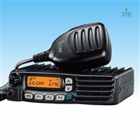 Icom F5021 - F6021 Series Business Mobile Radio 128 channels and 8 character alphanumeric display.