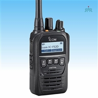 ICOM F52D, F62D Compact 512 Channels Digital Analog Portable Radio.