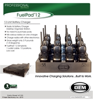 Klein Electronics FUELPAD-12 Organizing Pad for Portable Radios Chargers