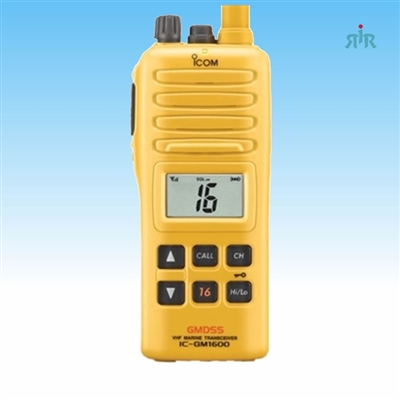 Marine VHF Handheld for Survival Crafts. GM1600