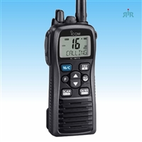 Icom M73 VHF Marine Handheld , 6 Watts IPX8 Submersible PLUS