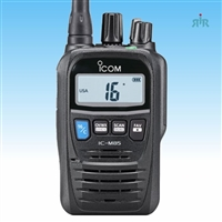ICOM M85  Marine VHF 5W Compact Handheld with 100 Conventional  Programmable Channels