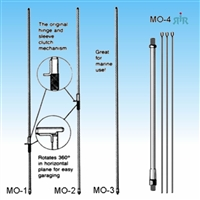 Antenna masts for HUSTLER series RM resonators.