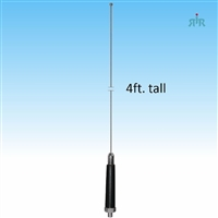 "NH4HC Antenna 26-29 MHz, 3/8"" x 24 thread mounting, 400W"