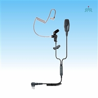 Klein Electronics PATRIOT Professional Earpiece 2-wire Surveillance Kit  for Icom, Kenwood, Motorola, Vertex Portable Radios