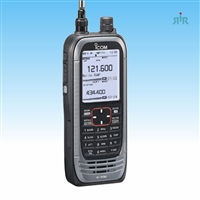 ICOM R30 Dual Band Analog and Digital Scanner Radio 0.1–3300 MHz with Recording and GPS