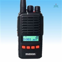 Maxon TP8102R, TP8402R Waterproof radio with Voice Recording, Scrambler, UHF 4W, VHF 5W, 512 ch