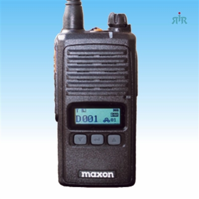 Maxon TSD-4124 VHF, TSD-4424 UHF DMR Tier II TDMA-Analog radios with Encryption and Voice Record
