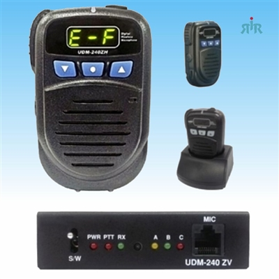 Maxon UDM-240Z Free Band 2.4 GHz Intercom and Repeater with Interface to Mobile or Base Radio