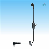 Klein Electronics VAPOR Earpiece Single-Wire for Kenwood, Motorola, Vertex-Standard Radios.