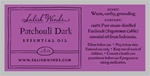 Dark Patchouli essential oil