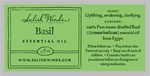 Basil Essential Oil .5 oz