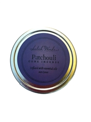 Patchouli Cone Incense - 10 Cones in metal tin.