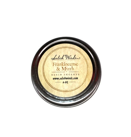 Frankincense and Myrrh Resin Incense 2 oz