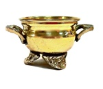 Brass Cauldron Resin Incense Burner