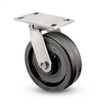 "Heavy Duty Kingpinless Swivel Caster with a 12"" x 3"" Phenolic wheel"