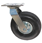 "Caster Air Filled Pneumatic 10""x 3"" Wheel, Swivel"