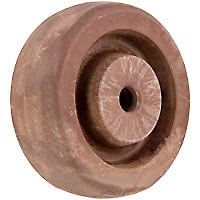"4""x 2""  High Temp Nylon Wheel 1/2"" Plain Bore"