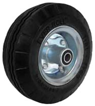 "10""x 2-3/4"" Never Flat Pneumatic Offset Hand Truck Wheel Ball Bearing"