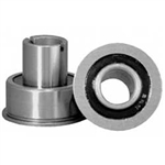 Flanged Sealed Precision Caster Wheel Bearings
