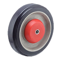 "5"" Pemco Tensioner KasterKat Shopping Cart Caster Wheels, Polyurethane"