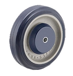 "5"" Pemco Anti Static KasterKat Shopping Cart Caster Wheels, Polyurethane"