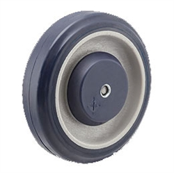 "5"" Pemco PolyKat Shopping Cart Caster replacement Wheels, Polyurethane"