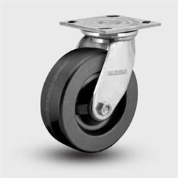 "Medium Duty Phenolic 5 x 2"" Swivel Caster, Albion"