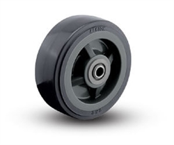 "5""x 2"" Albion XA, Polyurethane on Polyolefin Core Wheel Gray, Roller Bearing"
