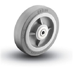 "8""x 2""  Colson Performa Soft Grey Rubber, Non Marking Wheel with Roller Bearing"
