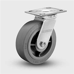 "Albion 8 X 2"" Medium Duty  Swivel Casters XS Grey Rubber"