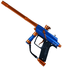 Azodin Blitz 4 Paintball Marker - Blue/Orange