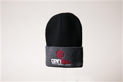 Critical Paintball Beanie Black / Grey - Logo