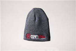 Critical Paintball Cap Grey - Logo
