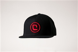 Critical Paintball Snap Back Hat Black - Icon