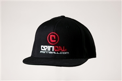Critical Paintball Snap Back Hat Black - Logo