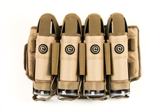Critical Paintball V4 True Ejection Stealth Pack - 4+5 - Coyote Tan
