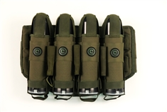 Critical Paintball V4 True Ejection Stealth Pack - 4+5 - Olive Drab