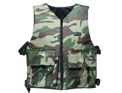 Gen X Global GXG Reversible Tactical Vest - Camo