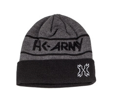 HK Army Beanie Attack - Charcoal / Black