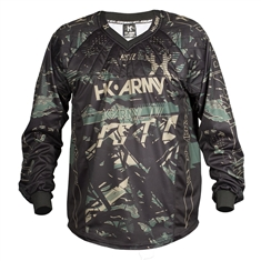 HK Army Paintball HSTL Line Jersey -Jungle Camo